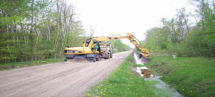 Picture of Excavator Ditching