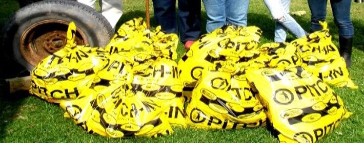 Picture of Bags of Garbage
