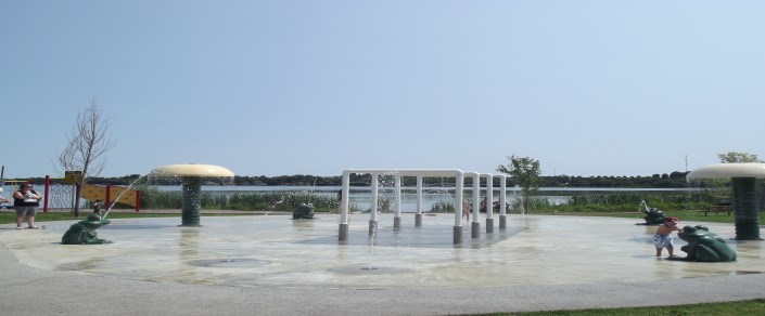 Picture of the Splash Pad